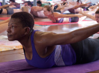 Bikram Yoga Full Locust Pose